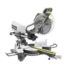 Ryobi 13 Amp 10 in. Sliding Compound Miter Saw w/Laser ZRTS1142LG Reconditioned