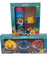 Baby Shark Duo Set Kids Pinkfong Bath Fizzer Bubble Squirter Christmas Present