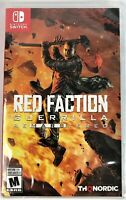 NEW  Red Faction Guerrilla  HD ReMarsTered Re-Mars-Tered Remastered  Video Game