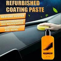 Automotive Car Interior Auto Leather Renovated Coating 120ml Agent Paste X6S1
