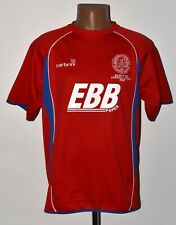 ALDERSHOT TOWN ENGLAND 2008 HOME SPECIAL FOOTBALL SHIRT JERSEY CARBRINI SIZE L