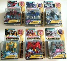 TRANSFORMERS CYBERVERSE WARRIOR CLASS ACTION FIGURES NEW BOXED
