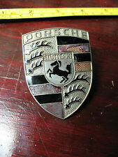 PORSCHE  EMBLEM STUTTGART 901 559 210 20 ORIGINAL  GLASS  LOSS