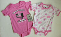 Lot 2 NWT NEW DALLAS COWBOYS Baby Jersey Onepiece Creeper Newborn Infant 12 M