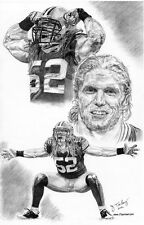 Clay Matthews III Green Bay Packers poster picture art