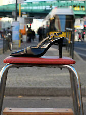MERCEDEH Damen Slingbags Pumps Monte Carlo Schuhe Sandaletten Eur 35  UK 2,5