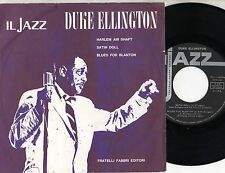 DUKE ELLINGTON disco EP 45 giri MADE in ITALY serie IL JAZZ N.1 Harlem air Shaft