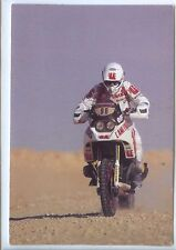 CP - Carte Postale - Ph. Joineau - Paris-Dakar Moto Ecureuil 1000 Caisse Epargne