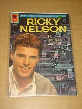 FOUR COLOR #1192 VF (8.0) DELL COMICS RICKY NELSON JUNE 1961