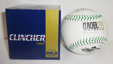 Debeer Clincher Extreme Gold Leather 290 Xlgi .47 Cor Green Stitch Softball