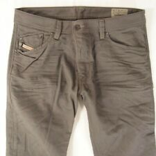 Mens Diesel DARRON 008QU Slim Tapered Grey Jeans W34 L34