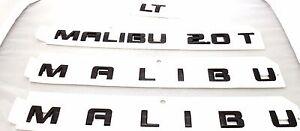 OEM GM Blackout Door and Trunk Emblems Chevrolet Malibu 84023560 GM Accessory