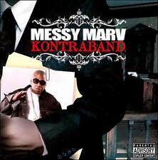 Messy Marv - Kontraband CD SEALED NEW Sean T, S.F. Bay Area hip hop