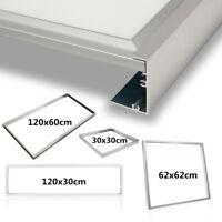 LED Panel Rahmen 30x30 62x62 120x30 120x60 Aufputzrahmen Aufbaurahmen Wandeinbau