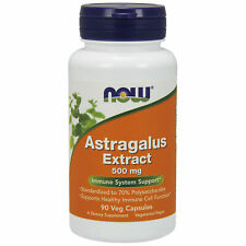 Astragalus Root Super Strong 70% Extract 500mg 90 Veg Capsules Immune Support