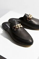Jeffery Campbell Womens Black Apfel Loafer New Size 9 MSRP $120