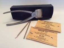 VTG - Clipper Pecan Sheller - H M Quackenbush - Original Packaging, 2 Repair Kit