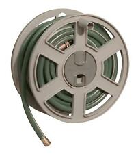 100 ft. Sidewinder® Resin Hose Reel, Dark Taupe, Wall Mount Sturdy Resin New