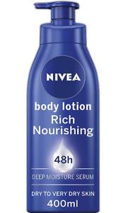 Nourishing Moisturizing Intensive Rich Body Hydrating Lotion for Dry Skin 400ml