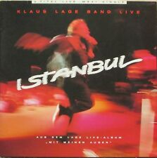 "Klaus Lage Band - Istanbul: Live (12"" Musikant Vinyl Maxi-Single Germany 1986)"