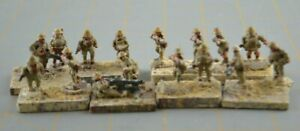 """Soldier Military Army Men 1"""" 1:72 1/72 Scale Miniature Small Figure Troops"""