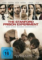 THE STANFORD PRISON EXPERIMENT (Billy Crudup, Ezra Miller) DVD NEU
