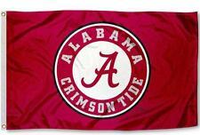 Alabama Crimson Tide 3' x 5' Flag (Athletic Seal) NCAA Licensed