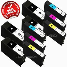 10 Pack 100XL Ink Cartridge For Lexmark S301 S305 S405 S505 S605 S815 S816