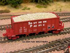 Hay Brothers CHUNK LIMESTONE LOAD - Fits MicroTrains Ortner 3-Bay Hopper Cars