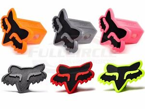 "Fox Racing Foxhead Trailer Hitch Cover 2"" Inch Receiver Polyurethane/PVC MX ATV"