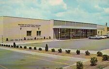 United States Post Office Wheeling West Virginia WV --- Standard Chrome Postcard