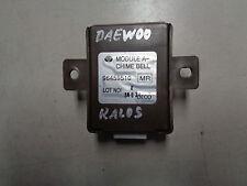 Système D'alarme De Contrôle Unité 96459510 Daewoo Kalos