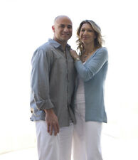 Steffi Graf and Andre Agassi UNSIGNED photo - E1512 - Tennis superstars