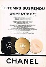 PUBLICITE ADVERTISING 045  1982  CHANEL   cosmétiques CREME