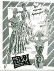 Publicité ancienne maillot de bain Kestos Vahiné 1955 issue de magazine