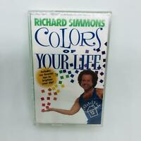 Richard Simmons Colors Of Your Life NEW Cassette Tape