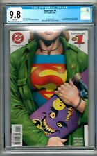 """Supergirl #1 (1996) CGC 9.8  White Pages  David - Frank   1st Print  """"Buzz"""""""
