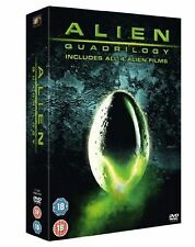 The Complete Aliens Quadrilogy Collection 5 Discs box Set Brand New DVD