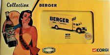 CORGI HERITAGE.BERLIET GLR FOURGON BERGER  NEUF BOITE 1/50 COLLECTION BERGER
