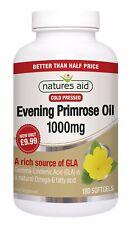 Natures Aid Evening Primrose 1000mg - 180 Capsules