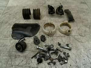 SUZUKI RM125 RM 125 1997 97 PARTS MIX BOLTS FOOD PEGS MASTER CYLINDER COVER.