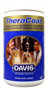 TheraCoat Dietary Supplement Powder for Dogs & Cats (16 oz)
