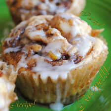 "☆Ridiculously Good!☆Apple Cinnamon Roll Cupcakes ""RECIPE""!☆"