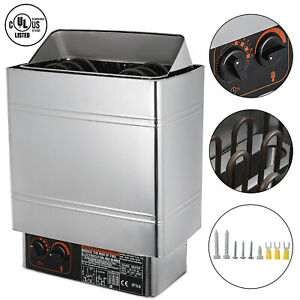 6KW Sauna Heater Stove 220V Sauna Stove Home SPA Internal Controller