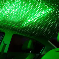 USB LED Car Roof Star Night Interior Light Atmosphere Galaxy Lamp Accessories 3w