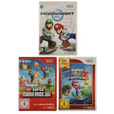 Nintendo Wii Spiel - Mario Kart + Super Mario Galaxy 2 + New Super Mario Bros.