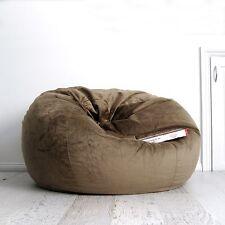 Australian Made Furniture 2019 Latest Design Chillizone Bean Bag Cow Print Brown Faux Fur Adult 200 Litre Bean Bags & Inflatables
