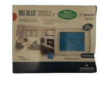 """White Rodgers 1F97-1277 Big Blue 12"""" Touchscreen Thermostat Emerson Single Stage"""