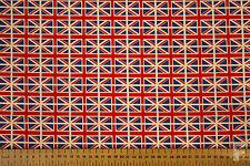 Por Todo Bandera Union Jack Tejido - 100% Algodón - 114cm Ancho