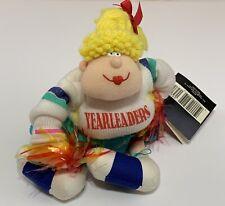Hallmark Yearleaders Collectible Plush Funny Novelty Birthday Gift Cheerleader